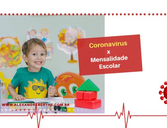 mensalidade coronavírus
